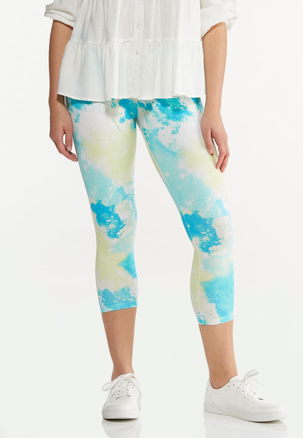 Tie Dye Cropped Leggings