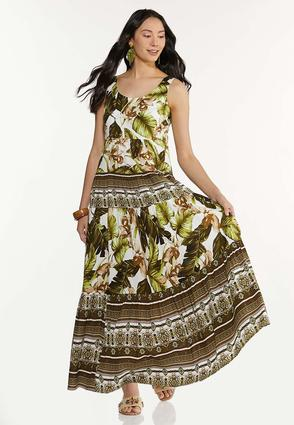 Plus Size Island Dreams Maxi Dress