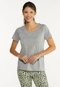 Plus Size Stretch Active Tee