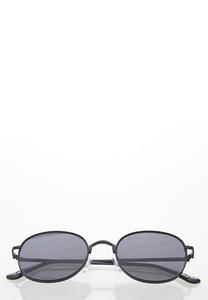 Mod Black Sunglasses