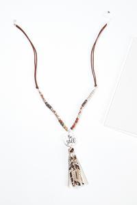 Tasseled Be Still Necklace