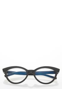 Black Cat Eye Blue Light Glasses