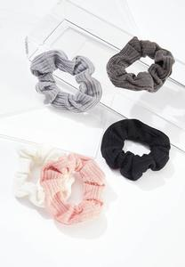 Live Well Scrunchie Set