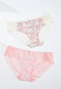 Tropical Palm Panty Set