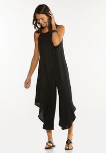 Plus Size Beaded Strap Genie Jumpsuit