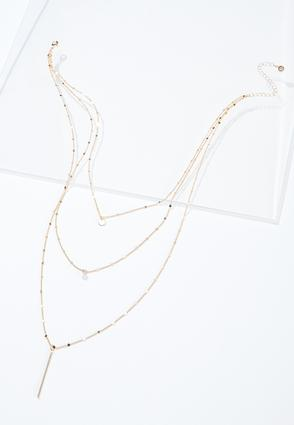 Dainty Dot Layered Necklace