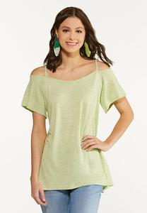 Casual Cold Shoulder Tunic