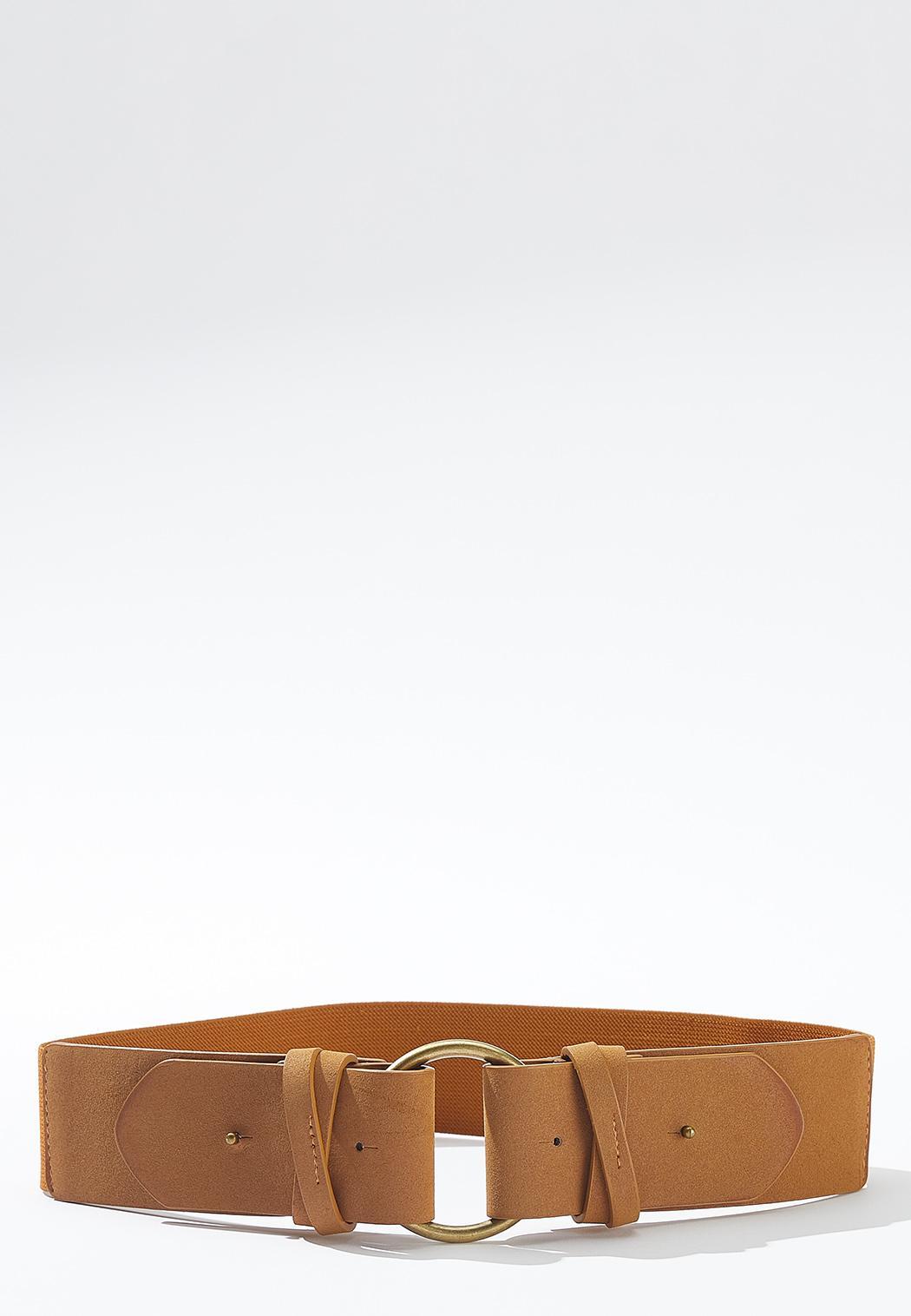 Plus Size Double Fold Stretch Belt
