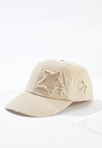 Distressed Star Baseball Hat