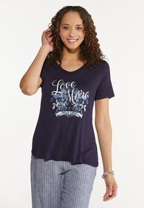 Love More Fear Less Tee