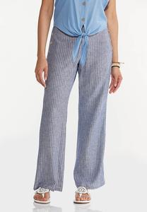 Sailor Stripe Linen Pants