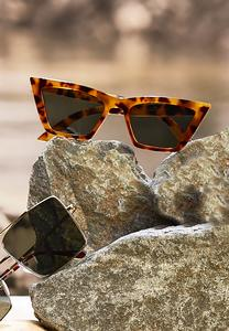 Cat Eye Tortoise Sunglasses