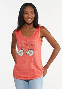 Plus Size Say Yes To Adventure Tank