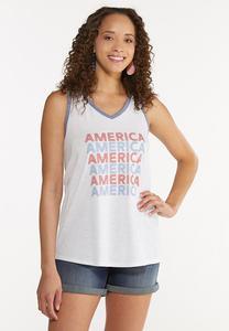 America Ringer Tank