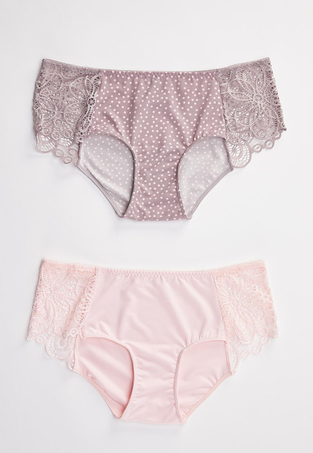 Plus Size Blossom Blast Panty Set