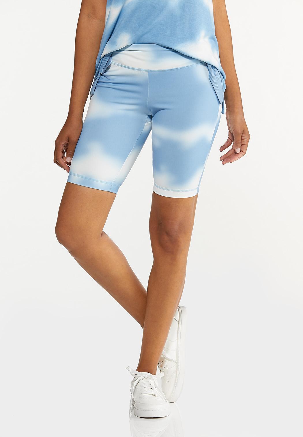 Cloud Tie Dye Biker Shorts
