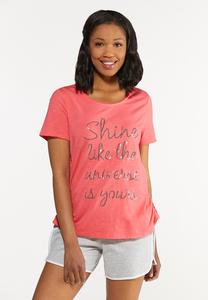 Plus Size The Universe Is Yours Tee