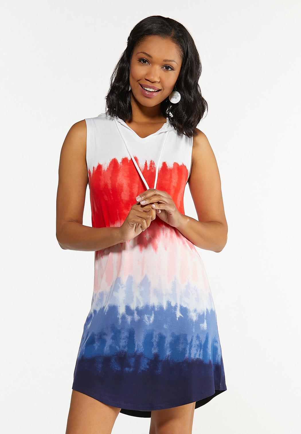 Tie Dye French Terry Dress