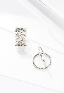 Mixed Silver Ring Set