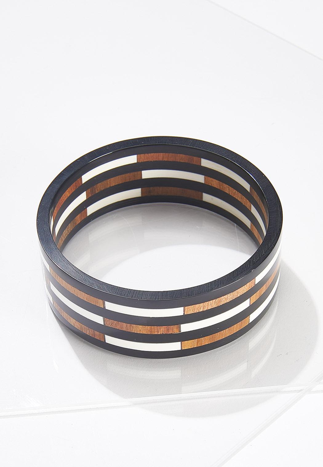 XL Resin Wood Bracelet
