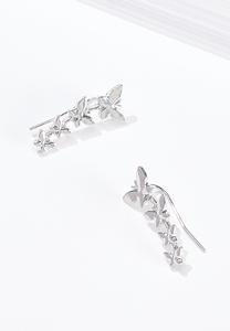 Butterfly Crawler Earrings