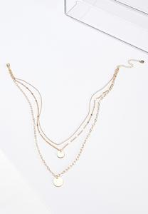 Delicate Layered Mixed Chain Necklace
