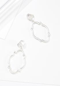 Moroccan Post Clip-On Earrings