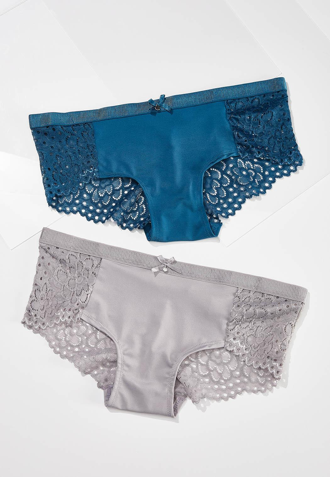 Touch Of Teal Panty Set