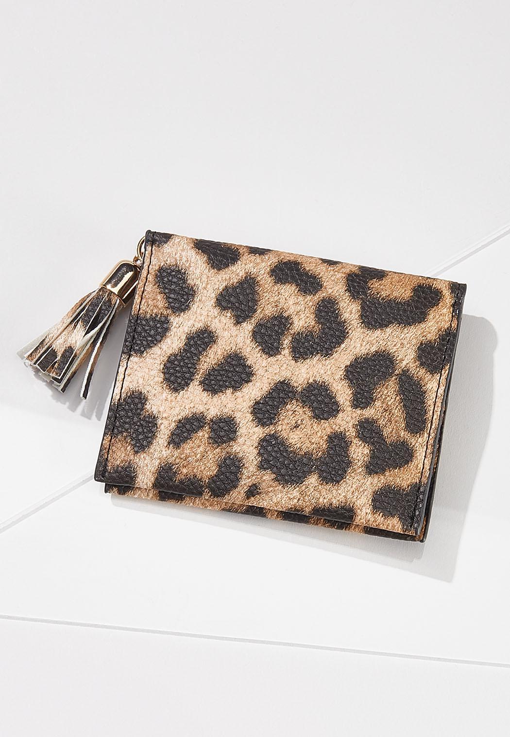 Mini Leopard Wallet