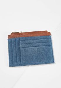 Denim Card Wallet