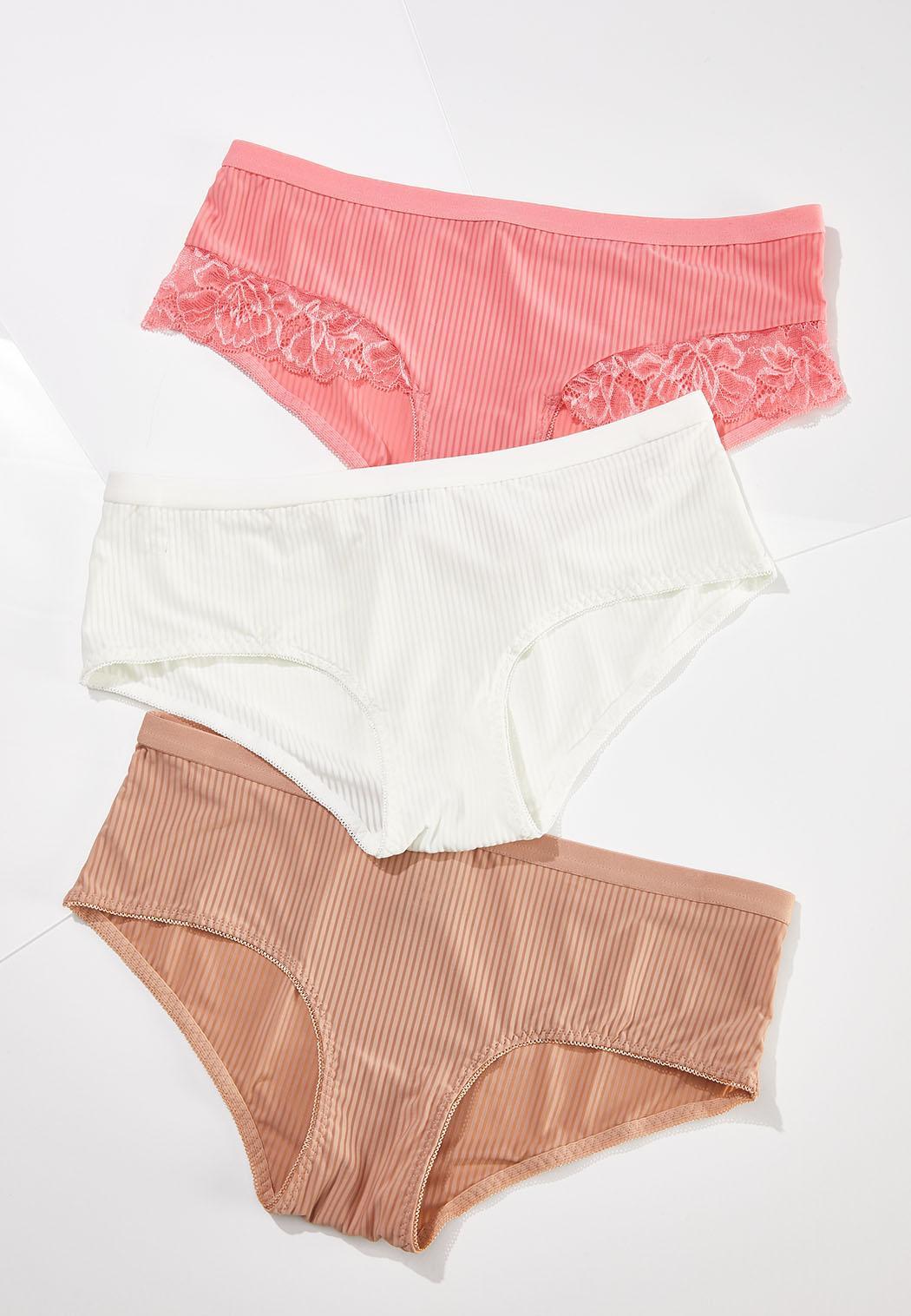 Plus Size Pretty Pink Panty Set