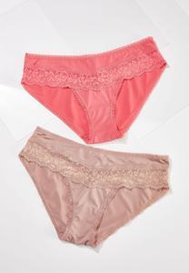 Lovely Lace Panty Set