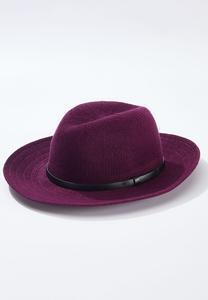 Solid Textured Panama Hat