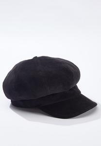 Corduroy Cabbie Hat