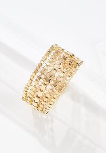 Gold Star Stretch Bracelets