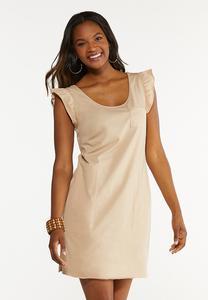 Plus Size Ruffled Tank Dress