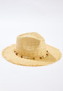 Shell Strand Straw Hat
