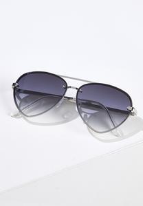 Tear Shaped Aviator Sunglasses