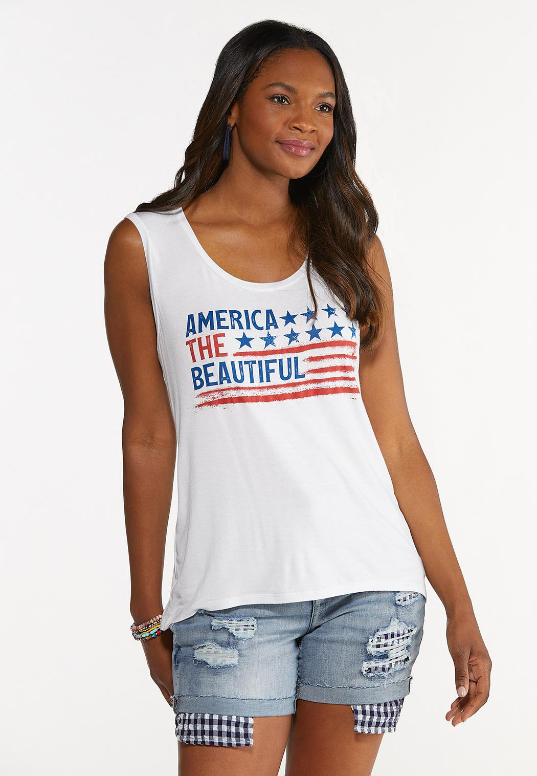 America The Beautiful Tank