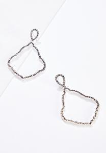 Pave Moroccan Earrings