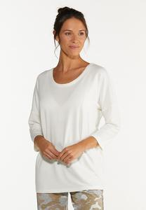 Cutout French Terry Top