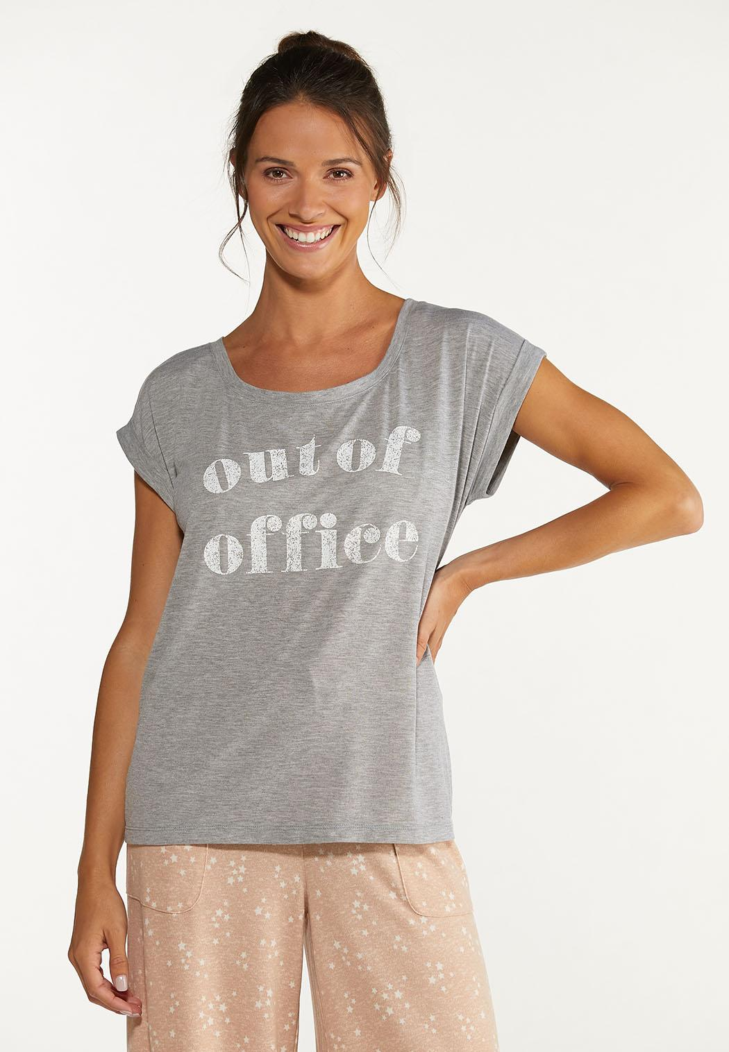 Plus Size Out Of Office Tee