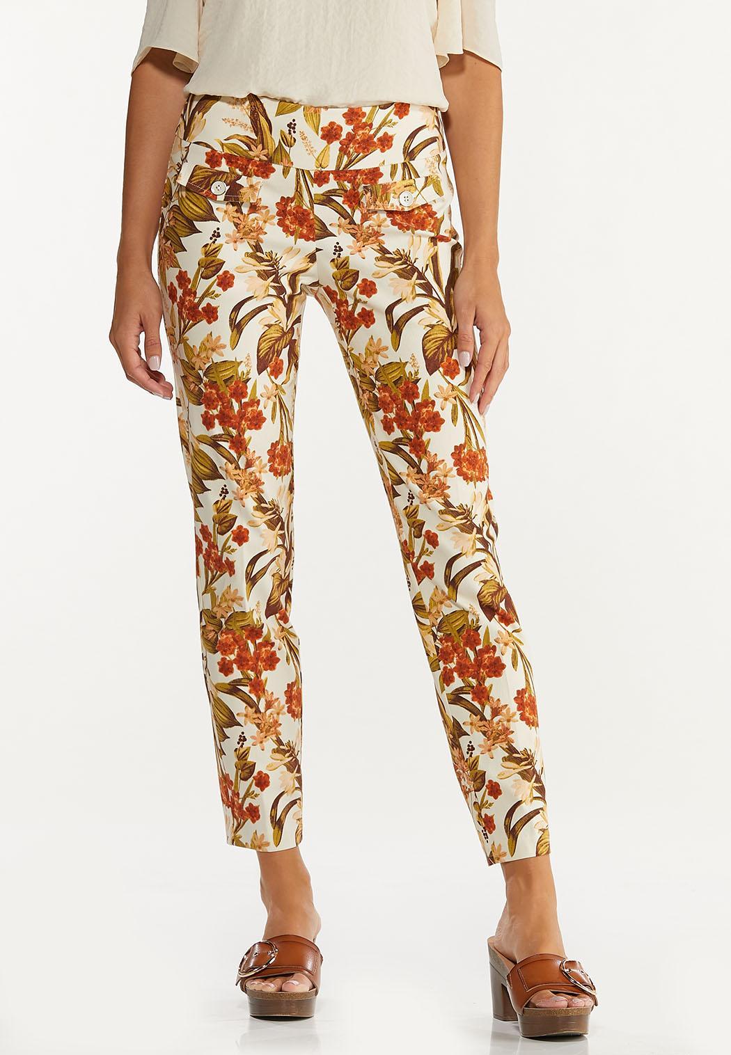 Fresh Floral Ankle Pants