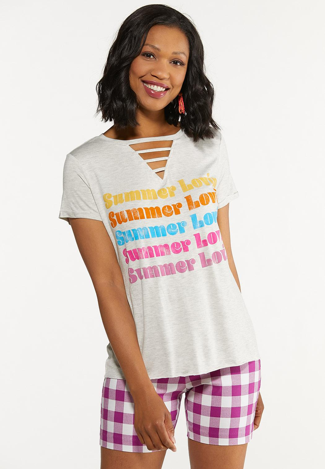 Plus Size Summer Lovin Tee