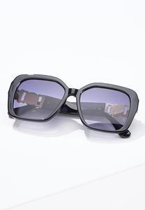 Cheetah Face Arm Sunglasses