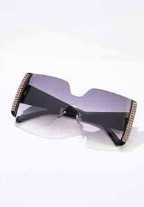 Rhinestone Detail Sunglasses