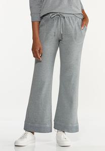 Gray Flare Lounge Pants