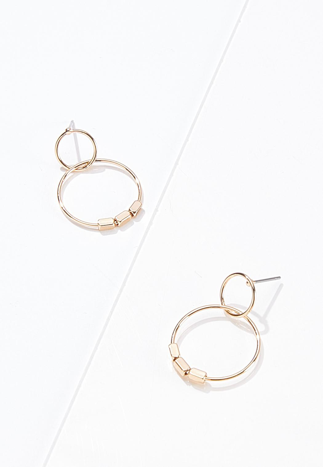 Delicate Door Knocker Earrings