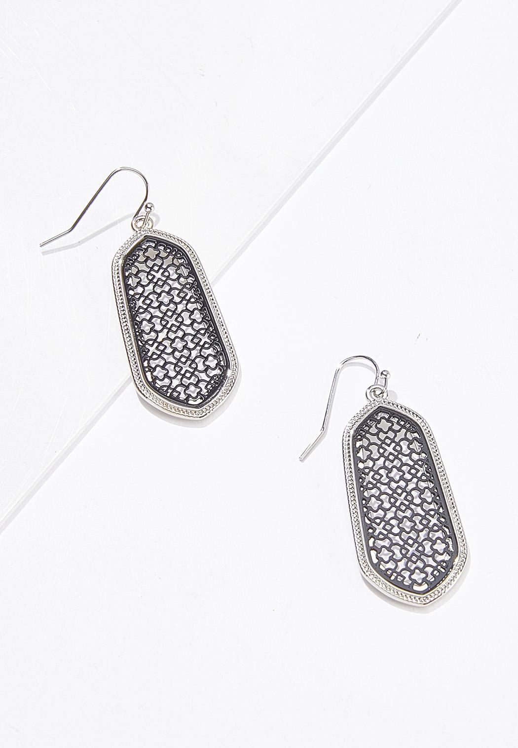 Filigree Metal Earrings