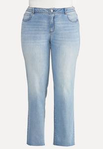 Plus Size Lightwash Jeans
